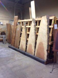 Bubinga Lumber Slabs